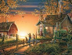 Morning Surprise (Terry Redlin Collection) Farm Jigsaw Puzzle