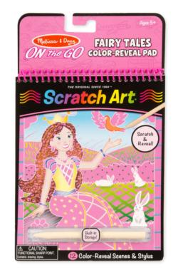Fairy Tales Color-Reveal Pad