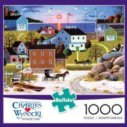 Whaler's Bay Seascape / Coastal Living Jigsaw Puzzle