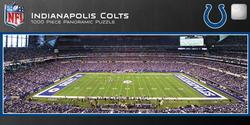 Indianapolis Colts Sports Panoramic Puzzle