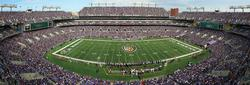 Baltimore Ravens Sports Panoramic