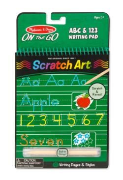 ABC & 123 Writing Pad Arts and Crafts