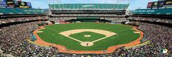 Oakland Athletics Baseball Panoramic Puzzle
