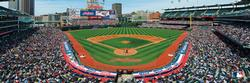 Cleveland Indians Baseball Panoramic Puzzle