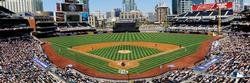 San Diego Padres Baseball Panoramic