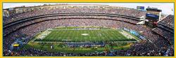 San Diego Chargers Sports Panoramic Puzzle