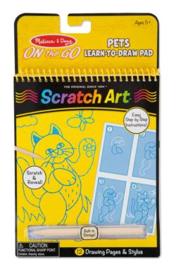 Pets Learn-to-Draw Pad