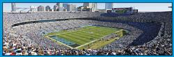 Carolina Panthers Sports Panoramic