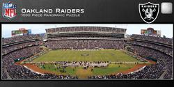 Oakland Raiders Sports Panoramic