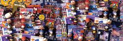 Super Bowl Collectibles Sports Panoramic