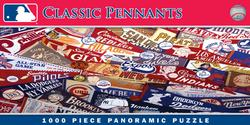 MLB Classic Pennants Sports Panoramic