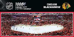 Chicago Blackhawks Sports Panoramic Puzzle
