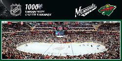Minnesota Wild Sports Panoramic Puzzle