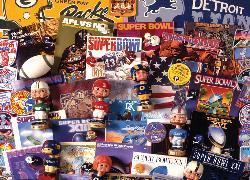 NFL Superbowl Collectibles Sports Jigsaw Puzzle