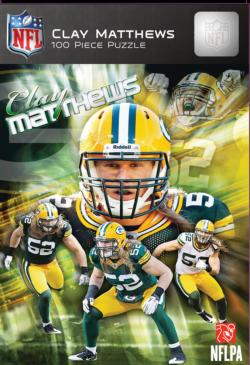 Clay Matthews Sports Jigsaw Puzzle