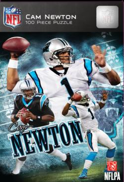 Cam Newton Sports Jigsaw Puzzle