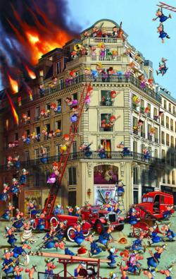 Fire Brigade Cartoons Jigsaw Puzzle