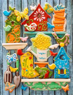 Edible Garden Sweets Jigsaw Puzzle