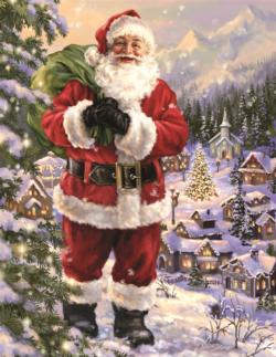 Santa's Village Christmas Jigsaw Puzzle