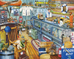 The Bait Shop Fishing Jigsaw Puzzle