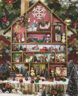 Christmas Country Home Christmas Jigsaw Puzzle