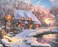Winter Retreat Winter Jigsaw Puzzle