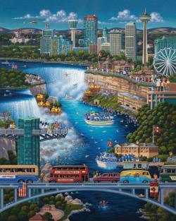 Niagara Falls Waterfalls Jigsaw Puzzle