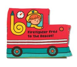 Firefighter Fred to the Rescue Activity Book and Stickers