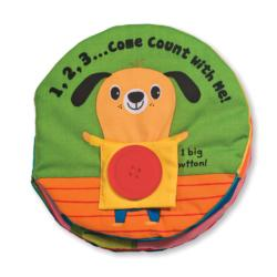 1,2,3...Come Count with Me Activity Book and Stickers