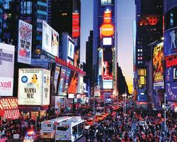 Times Square Sunrise/Sunset Jigsaw Puzzle