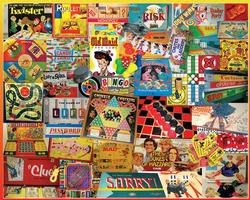 The Games We Played Collage Jigsaw Puzzle