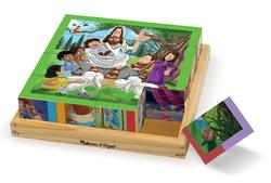 New Testament Cube Puzzle Religious Tray Puzzle