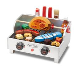 Rotisserie & Grill Barbecue Set Pretend Play