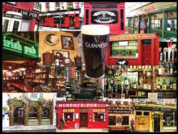 Irish Pubs St. Patrick's Day Jigsaw Puzzle