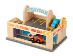 Service Station Parking Garage Toy