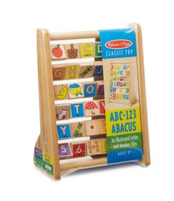 ABC-123 Abacus Educational Toy