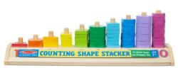 Counting Shape Stacker Math Toy