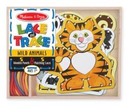 Lace & Trace - Wild Animals Dexterity Toy