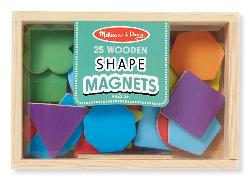 Magnetic Wooden Shapes and Colors Toy
