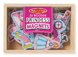 Wooden Princess Magnets Toy