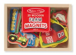 Wooden Farm Magnets Dexterity Toy