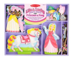 Lila & Lucky Magnetic Dress-Up Set Toy