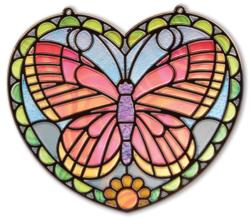 Stained Glass - Butterfly Arts and Crafts
