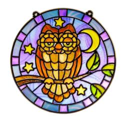 Stained Glass - Owl Arts and Crafts