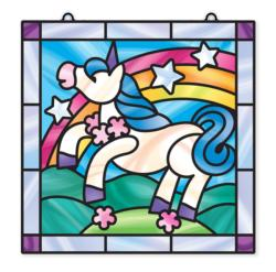 Stained Glass - Unicorn