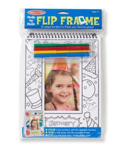 Month-by-Month Flip Frame Activity Book and Stickers