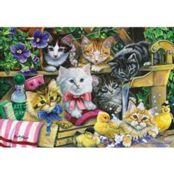 Bathtime Kittens Baby Animals Jigsaw Puzzle