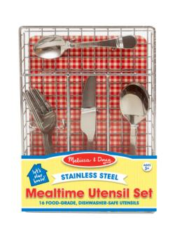 Let's Play House! Mealtime Utensil Set Pretend Play