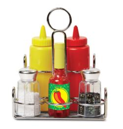 Condiments Set Pretend Play