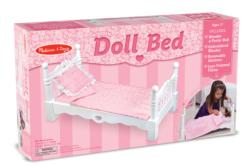 Wooden Doll Bed Toy